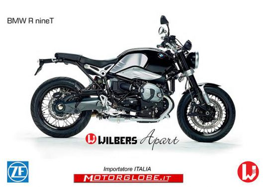 - Nuovo look BMW R nine T